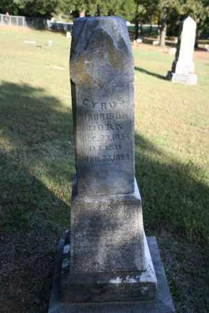 HARRISON, CYRUS - Washington County, Arkansas | CYRUS HARRISON - Arkansas Gravestone Photos