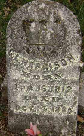 HARRISON, G. L. - Washington County, Arkansas | G. L. HARRISON - Arkansas Gravestone Photos