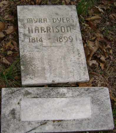 DYER HARRISON, MYRA - Washington County, Arkansas | MYRA DYER HARRISON - Arkansas Gravestone Photos