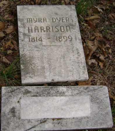 DYER HARRISON, MYRA - Washington County, Arkansas | MYRA DYER HARRISON - Arkansas Gravestone Photos