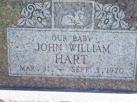 HART, JOHN WILLIAM - Washington County, Arkansas | JOHN WILLIAM HART - Arkansas Gravestone Photos