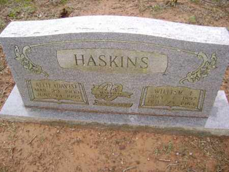 HASKINS, WILLIAM F. - Washington County, Arkansas | WILLIAM F. HASKINS - Arkansas Gravestone Photos
