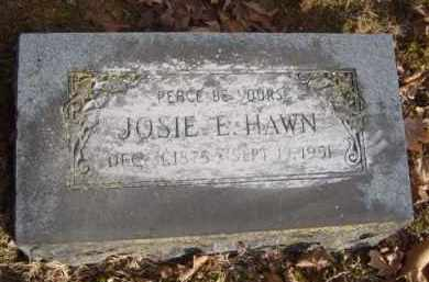 HAWN, JOSIE E. - Washington County, Arkansas | JOSIE E. HAWN - Arkansas Gravestone Photos