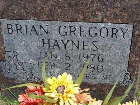 HAYNES, BRIAN GREGORY - Washington County, Arkansas | BRIAN GREGORY HAYNES - Arkansas Gravestone Photos