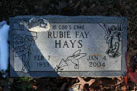 HAYS, RUBIE FAY - Washington County, Arkansas | RUBIE FAY HAYS - Arkansas Gravestone Photos