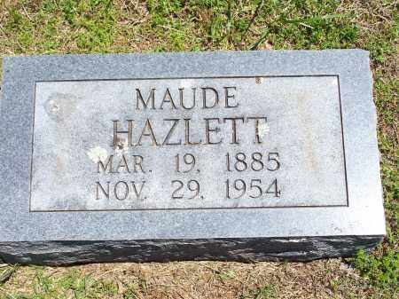 HAZLETT, MAUDE - Washington County, Arkansas | MAUDE HAZLETT - Arkansas Gravestone Photos