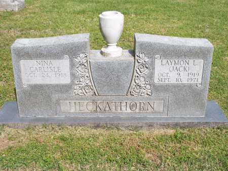HECKATHORN, LAYMON L. [JACK] - Washington County, Arkansas | LAYMON L. [JACK] HECKATHORN - Arkansas Gravestone Photos