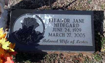 HEDEGARD, ELEANOR JANE - Washington County, Arkansas | ELEANOR JANE HEDEGARD - Arkansas Gravestone Photos
