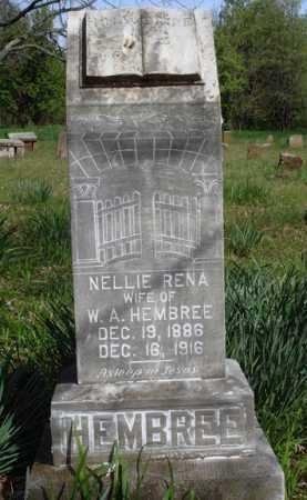 HEMBREE, NELLIE RENA - Washington County, Arkansas | NELLIE RENA HEMBREE - Arkansas Gravestone Photos