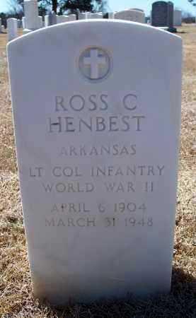 HENBEST  (VETERAN WWII), ROSS CHARLES - Washington County, Arkansas | ROSS CHARLES HENBEST  (VETERAN WWII) - Arkansas Gravestone Photos