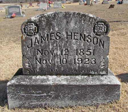 HENSON, JAMES - Washington County, Arkansas | JAMES HENSON - Arkansas Gravestone Photos
