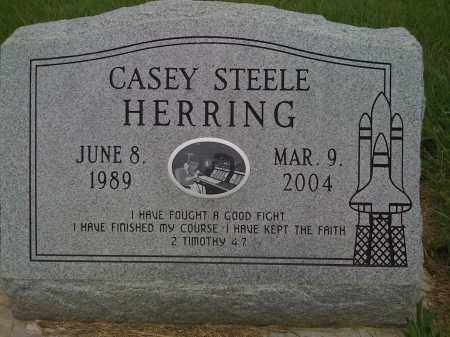 HERRING, CASEY STEELE - Washington County, Arkansas | CASEY STEELE HERRING - Arkansas Gravestone Photos