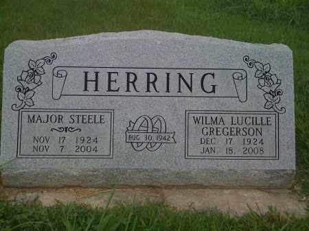HERRING, MAJOR STEELE - Washington County, Arkansas | MAJOR STEELE HERRING - Arkansas Gravestone Photos