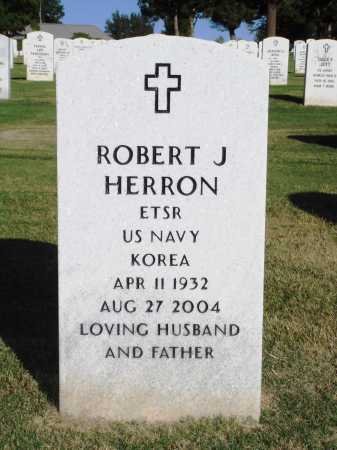 HERRON  (VETERAN KOR), ROBERT J. - Washington County, Arkansas | ROBERT J. HERRON  (VETERAN KOR) - Arkansas Gravestone Photos