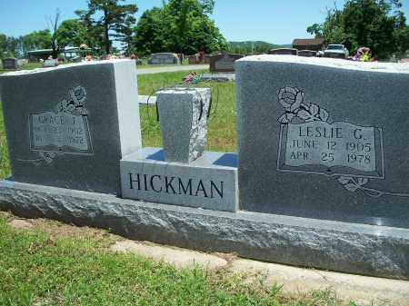 HICKMAN, LESLIE G. - Washington County, Arkansas | LESLIE G. HICKMAN - Arkansas Gravestone Photos