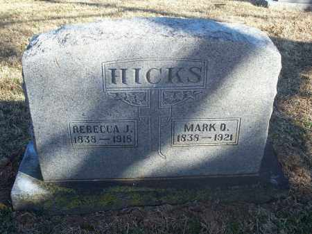 HICKS, REBECCA J. - Washington County, Arkansas | REBECCA J. HICKS - Arkansas Gravestone Photos