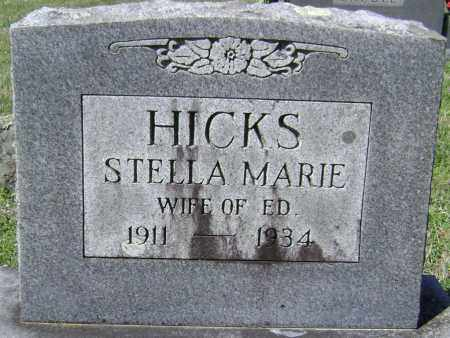 HICKS, STELLA MARIE - Washington County, Arkansas | STELLA MARIE HICKS - Arkansas Gravestone Photos