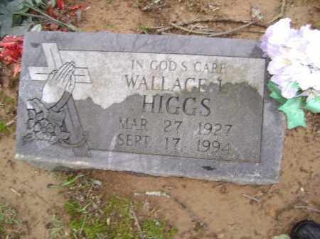 HIGGS, WALLACE L. - Washington County, Arkansas | WALLACE L. HIGGS - Arkansas Gravestone Photos