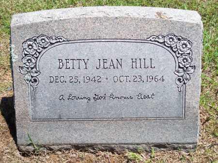 HILL, BETTY JEAN - Washington County, Arkansas | BETTY JEAN HILL - Arkansas Gravestone Photos