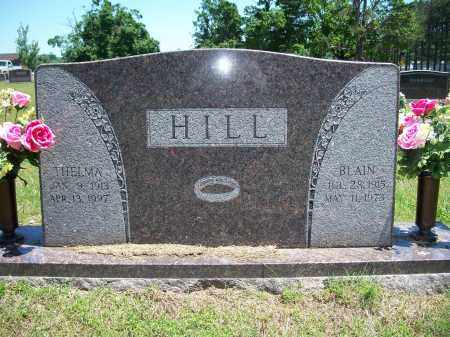 HILL, BLAIN - Washington County, Arkansas | BLAIN HILL - Arkansas Gravestone Photos