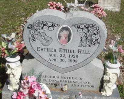 HILL, ESTHER ETHEL - Washington County, Arkansas | ESTHER ETHEL HILL - Arkansas Gravestone Photos