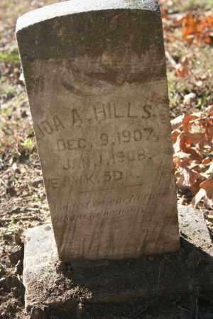 HILLS, IDA A. - Washington County, Arkansas | IDA A. HILLS - Arkansas Gravestone Photos