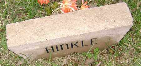 HINKLE, UNKNOWN - Washington County, Arkansas | UNKNOWN HINKLE - Arkansas Gravestone Photos