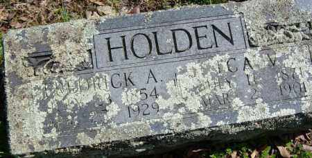 HOLDEN, FREDRICK A. - Washington County, Arkansas | FREDRICK A. HOLDEN - Arkansas Gravestone Photos