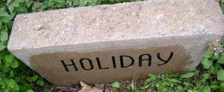 HOLIDAY, UNKNOWN - Washington County, Arkansas | UNKNOWN HOLIDAY - Arkansas Gravestone Photos