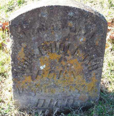 HOLLAND, RODE E. - Washington County, Arkansas | RODE E. HOLLAND - Arkansas Gravestone Photos