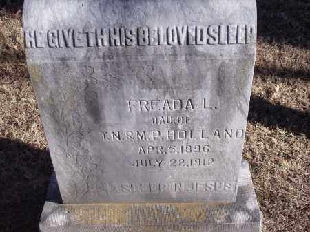HOLLAND, FREADA L. - Washington County, Arkansas | FREADA L. HOLLAND - Arkansas Gravestone Photos