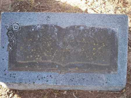 HOLLAND, JOHN A. - Washington County, Arkansas | JOHN A. HOLLAND - Arkansas Gravestone Photos