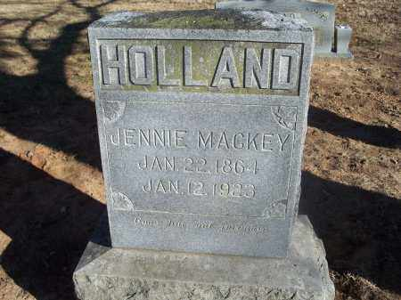 HOLLAND, JENNIE - Washington County, Arkansas | JENNIE HOLLAND - Arkansas Gravestone Photos