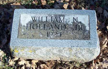 HOLLAND, WILLIAM N., JR. - Washington County, Arkansas | WILLIAM N., JR. HOLLAND - Arkansas Gravestone Photos