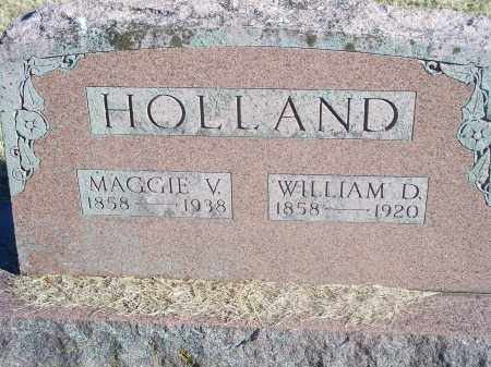 HOLLAND, MAGGIE V. - Washington County, Arkansas | MAGGIE V. HOLLAND - Arkansas Gravestone Photos