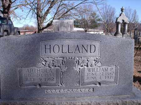 HOLLAND, WILLIAM P. - Washington County, Arkansas | WILLIAM P. HOLLAND - Arkansas Gravestone Photos