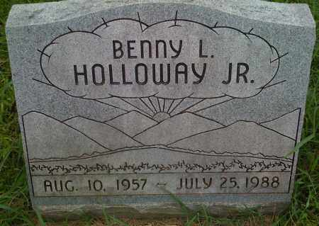 HOLLOWAY JR., BENNY L. - Washington County, Arkansas | BENNY L. HOLLOWAY JR. - Arkansas Gravestone Photos