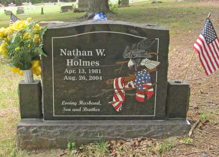 HOLMES, NATHAN W. - Washington County, Arkansas | NATHAN W. HOLMES - Arkansas Gravestone Photos