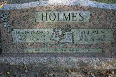 HOLMES, OLETA FRANCIS - Washington County, Arkansas | OLETA FRANCIS HOLMES - Arkansas Gravestone Photos