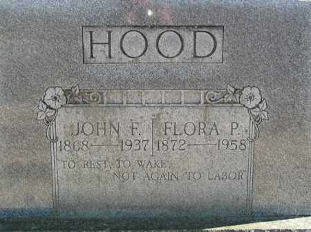 HOOD, JOHN F. - Washington County, Arkansas | JOHN F. HOOD - Arkansas Gravestone Photos