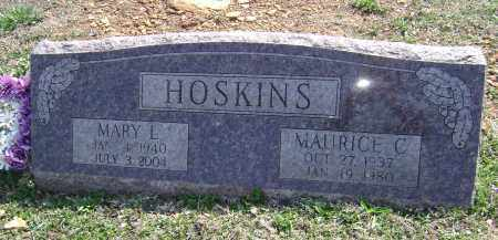 HOSKINS, MAURICE C. - Washington County, Arkansas | MAURICE C. HOSKINS - Arkansas Gravestone Photos