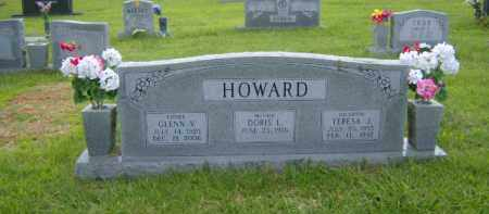 HOWARD, GLENN V. - Washington County, Arkansas | GLENN V. HOWARD - Arkansas Gravestone Photos