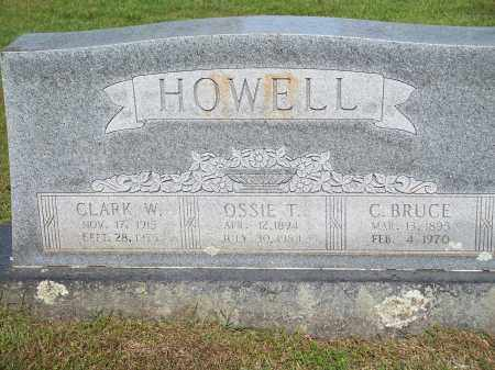 HOWELL, C. BRUCE - Washington County, Arkansas | C. BRUCE HOWELL - Arkansas Gravestone Photos