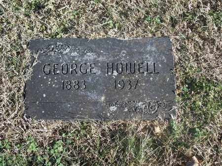 HOWELL, GEORGE - Washington County, Arkansas | GEORGE HOWELL - Arkansas Gravestone Photos