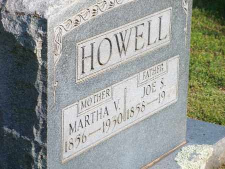 HOWELL, MARTHA V. - Washington County, Arkansas | MARTHA V. HOWELL - Arkansas Gravestone Photos
