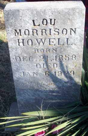 HOWELL, LOU - Washington County, Arkansas | LOU HOWELL - Arkansas Gravestone Photos