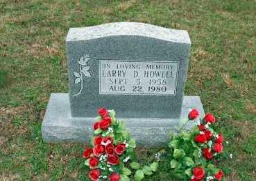 HOWELL, LARRY D. - Washington County, Arkansas | LARRY D. HOWELL - Arkansas Gravestone Photos