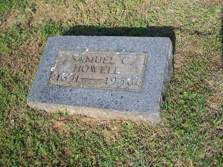 HOWELL, SAMUEL C. - Washington County, Arkansas | SAMUEL C. HOWELL - Arkansas Gravestone Photos