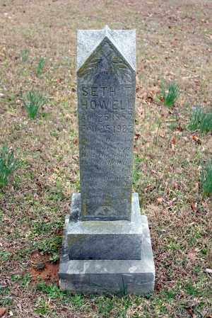 HOWELL, SETH T - Washington County, Arkansas | SETH T HOWELL - Arkansas Gravestone Photos