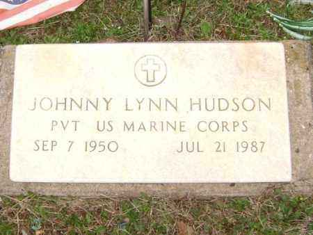 HUDSON  (VETERAN), JOHNNY LYNN - Washington County, Arkansas | JOHNNY LYNN HUDSON  (VETERAN) - Arkansas Gravestone Photos